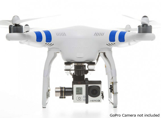 DJI Phantom 2 with Zenmuse H3-3D Gimbal, 2.4GHz Radio and Intelligent Battery (Ready To Fly)