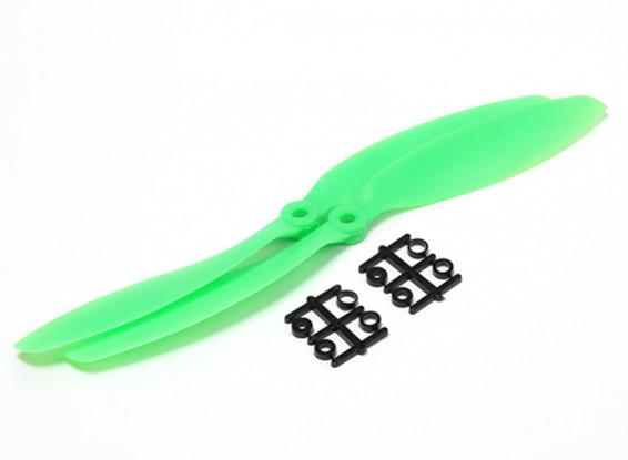 Hobbyking™ 9x4.7 Propeller Green (2pcs)