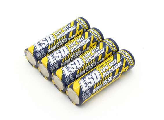 Turnigy Rechargeable Battery AA 2550mAh NiMH (4pc)