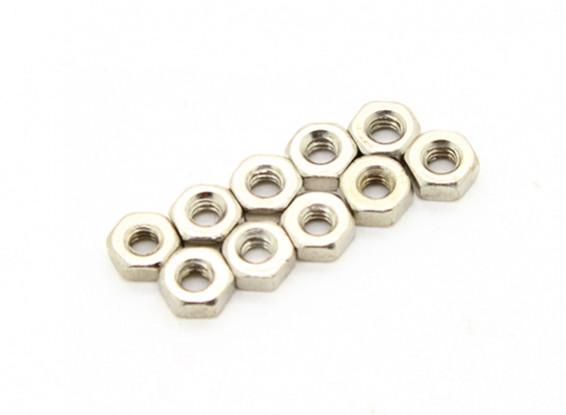 M2 Nuts (10pcs) - Basher 1/16 Mini Nitro Circus MT