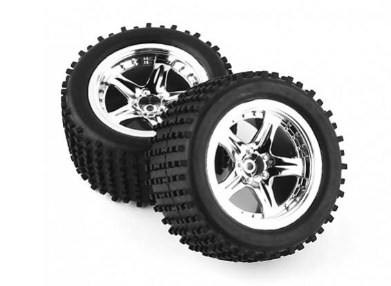 Pre-glued Tire Set (2pcs) - A3011