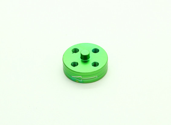 CNC Aluminum Quick Release Self-Tightening Prop Adapter - Green (Prop Side) (Counter-clockwise)