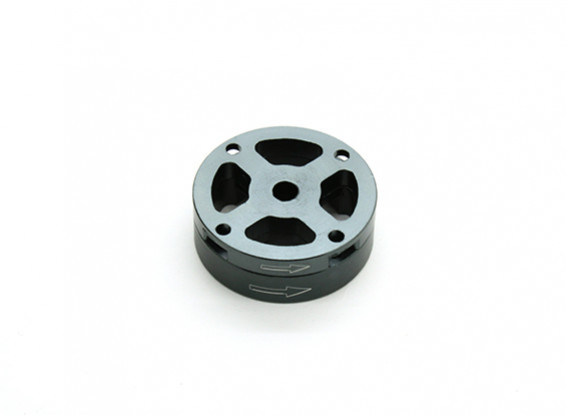 CNC Aluminum M10 Quick Release Self-Tightening Prop Adapter Set - Titanium (Counter-Clockwise)