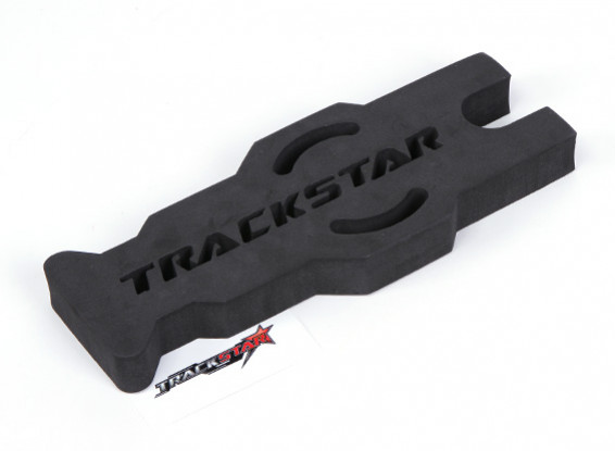 TrackStar 1/10 & 1/12 Scale Touring / Pan Car Maintenance Stand (Black) (1pc)