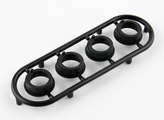 Basher RZ-4 1/10 Rally Racer - Composite Adjustment Ball Bearing Hub (4pcs)