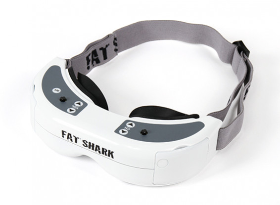 FatShark Dominator HD Headset System Goggles Video Glasses 800 X 600 SVGA
