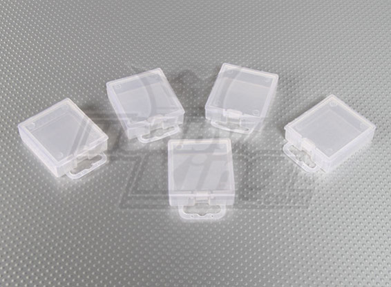 Part Boxes (PP Transparent) 5pcs