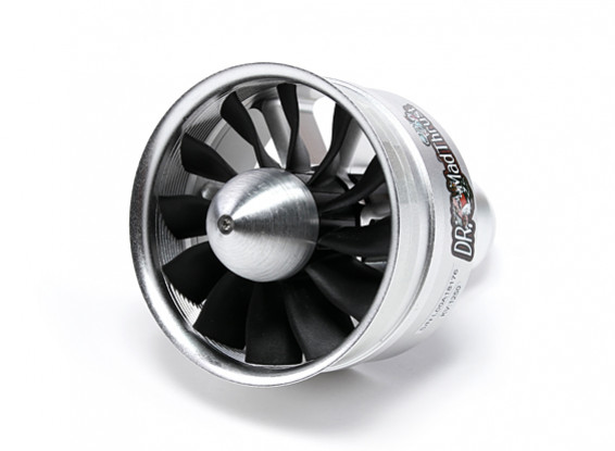 Dr. Mad Thrust 90mm 12 Blade Alloy EDF 1250kv - 3700w (8s) (Counter Rotating)