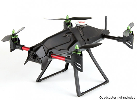 Extended Height Landing Skid Set for Quanum Venture FPV Quad-Copter