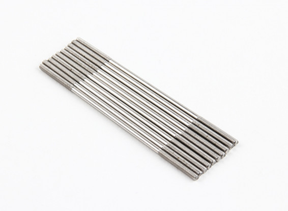 M2x65mm Stainless Steel Push Rods (LH & RH Threaded) (10pcs)