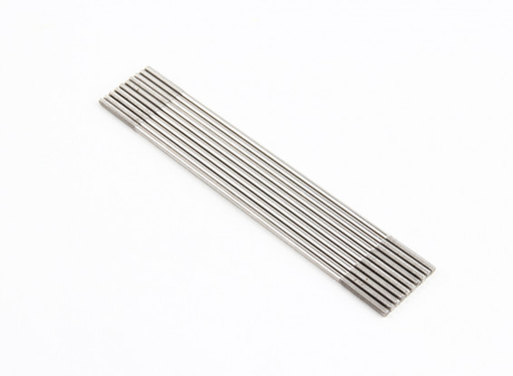 M2x100mm Stainless Steel Push Rods (LH & RH Threaded) (10pcs)