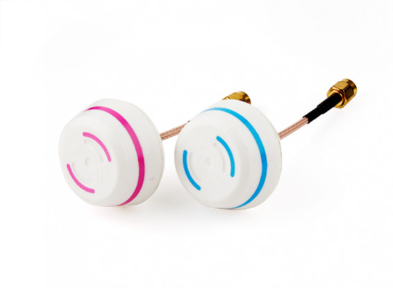 5.8GHz Circular Polarized Antenna Set-Transmitter and Receiver (RP-SMA)