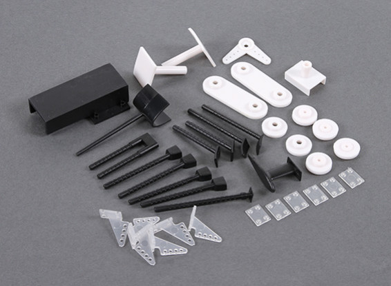 HobbyKing B-25 1250mm - Replacement Plastics Set