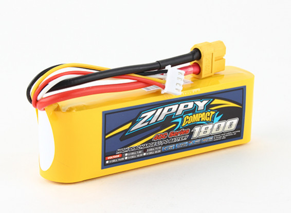 ZIPPY Compact 1800mAh 3s 40c Lipo Pack