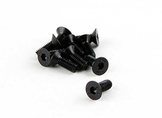 Basher RZ-4 1/10 Rally Racer - Countersunk Hex Screw M3x8 (10pcs)