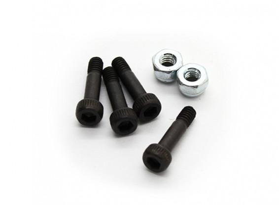Tarot 450 Pro/Pro V2 DFC Main Shaft Locking Screw with Lock Nut (TL45167-02)
