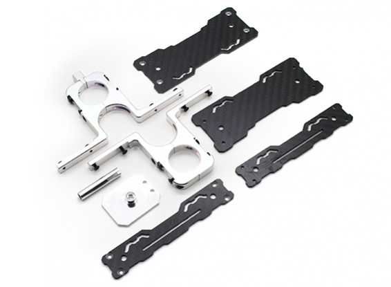 Tarot Carbon Fiber GPS Holder-Suits 24mm Tail Booms (TL2867)