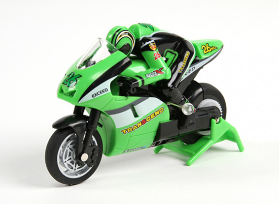 Allegro Micro Sport Bike 1/20th Scale Motorcycle (RTR) (Green)