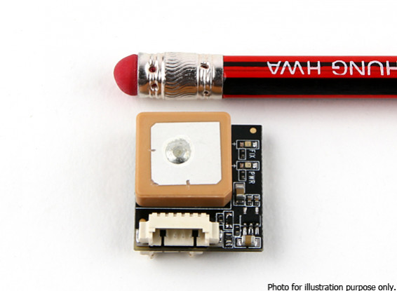 HKPilot Micro GPS and Compass Module U-BLOX 7 (8g)