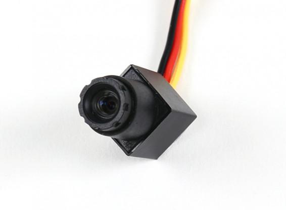 Mini CMOS FPV Camera 520TVL 90 deg Field Of Vision 0.008LUX 11.5 x 11.5 x 21mm (PAL)