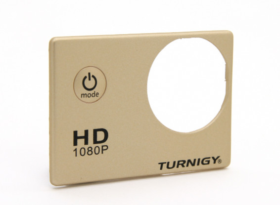 Turnigy ActionCam Replacement Faceplate - Bronze