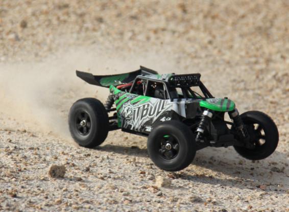 """Basher """"PitBull"""" 4WD 1/18 Mini Desert Buggy (RTR) NL"""