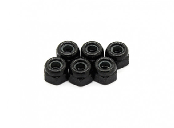Lock Nuts 2.5mm - Basher PitBull 1/18 4WD Desert Buggy (6pcs)