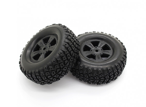 Tires Set - Basher PBull 1/18 4WD Desert Buggy (2pcs)