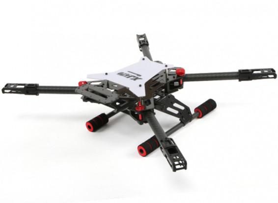 Quanum XJ470 CF Folding Sports Quadcopter Frame w/ Forward Facing Gimbal Mount