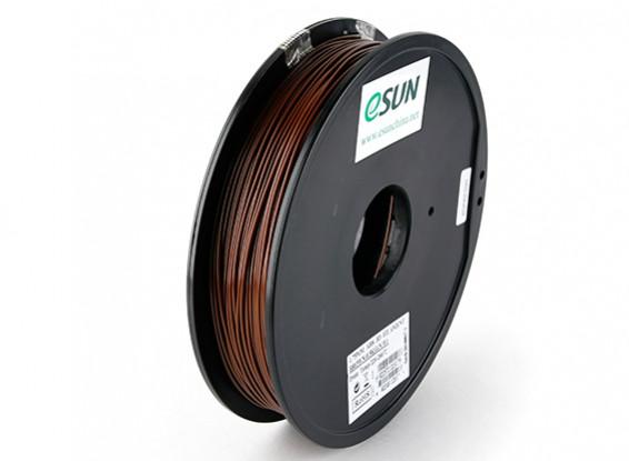 ESUN 3D Printer Filament Brown 1.75mm ABS 0.5KG Spool
