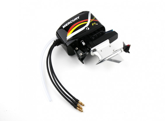 CNC Aluminum Outboard Style Boat Drive w/2630kv Motor (Suit HobbyKing H2O Style 650EP)