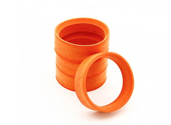 RiDE 1/10 Touring Molded Inner Foam - Orange - Medium (4pcs)