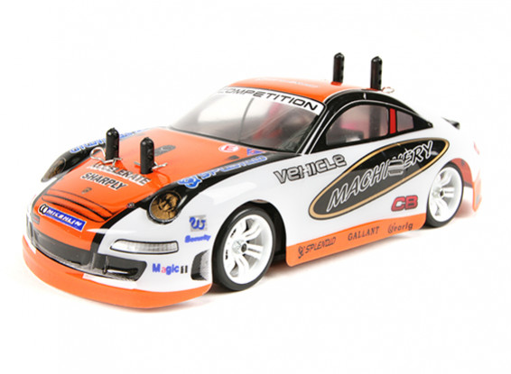 Turnigy TZ4 AWD 1/28 Micro Touring Car Ver.2 Drift Edition