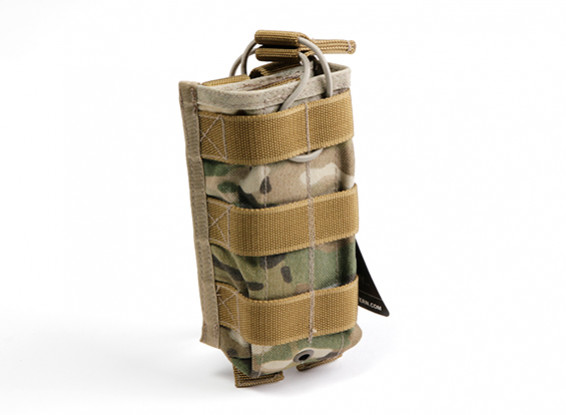 SWAT Cordura M4 Open-Top Molle Single Magazine Pouch (Multicam)