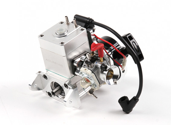 AquaStar AS26BS 26cc Watercooled Marine High Performance Gas Engine with Coil Ignition