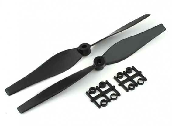 Gemfan Bi-directional 8in 3D Carbon Reinforced Propeller set CW/CCW Multirotor 2/PC per bag