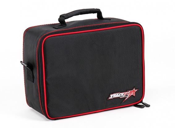 TrackStar Water Resistant Transmitter Bag for Sanwa MT-4 / FLYSKY GT5 , Noble