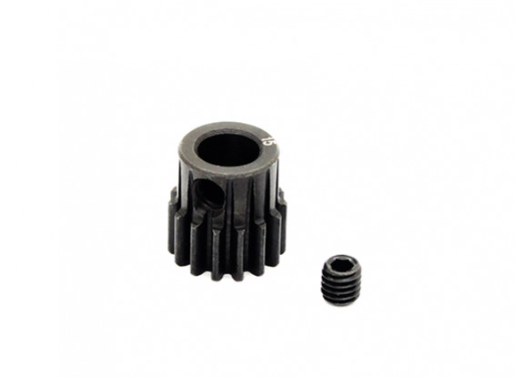 Hobbyking™ 0.7M Hardened Steel Helicopter Pinion Gear 6mm Shaft - 15T