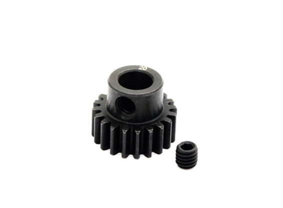 Hobbyking™ 0.7M Hardened Steel Helicopter Pinion Gear 6mm Shaft - 20T