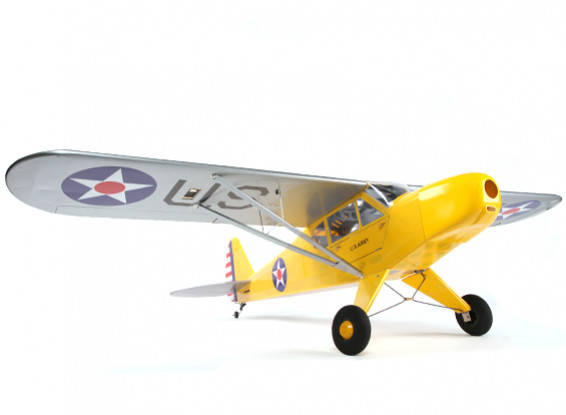 Piper J-3 Cub Balsa GP/EP 1620mm (ARF)