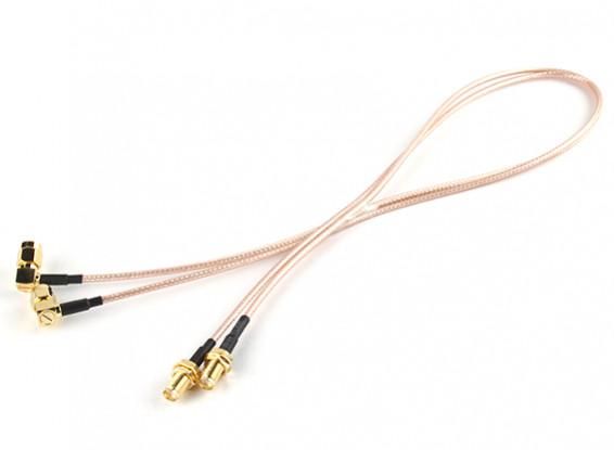 SMA Plug < - > SMA Jack 500mm RG316 Extension (2pcs/set) 1