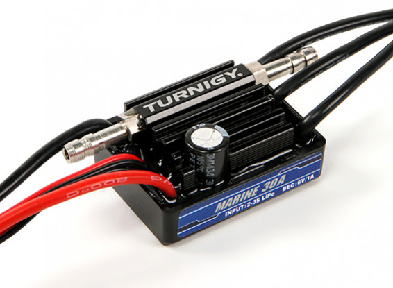 Turnigy Marine 30A BEC Waterproof  Speed Controller with Water Cooling