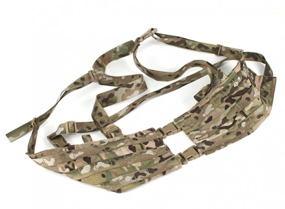 Grey Ghost Gear Assault Chest Rig- Split Front (Multicam)