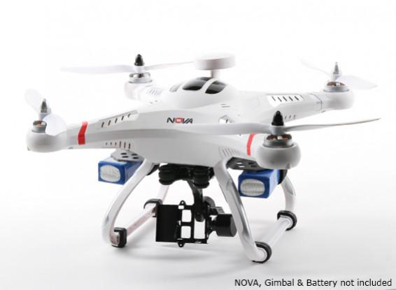 Dual Battery Mounting Plate for Quanum Nova Quadcopter