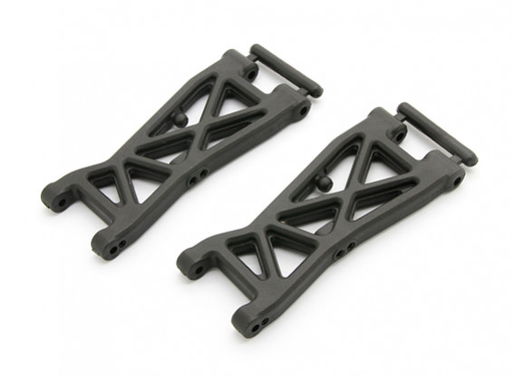 Front Lower A-Arm (L&R) - BSR Racing BZ-444 1/10 4WD Racing Buggy
