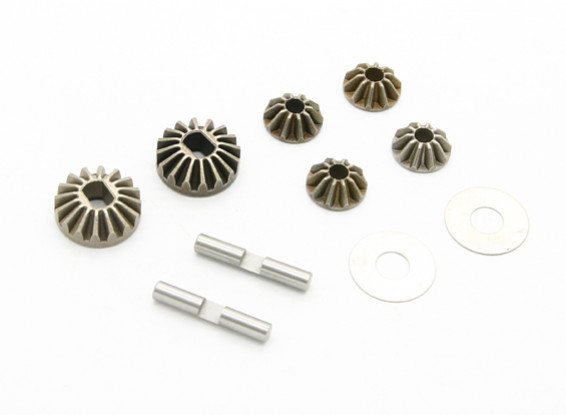 10T/13T Diff Gear - BZ-444 Pro 1/10 4WD Racing Buggy