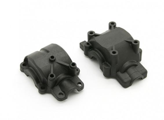 Fibre Reinforced Rear Gear Box Case - BZ-444 Pro 1/10 4WD Racing Buggy