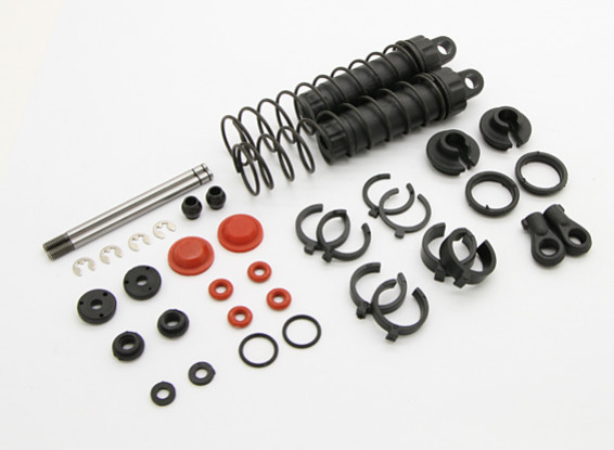 Rear Shock Set  - BSR Racing BZ-444 1/10 4WD Racing Buggy