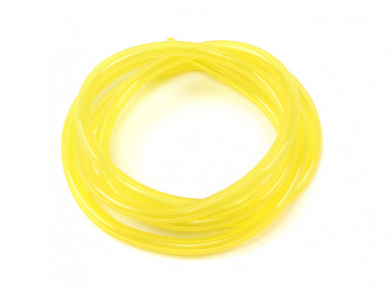 Yellow Silicone Fuel Pipe 2.5mm x 1mtr (Suitable for Nitro Engines)