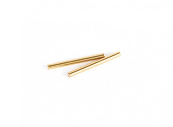 VBC Racing Firebolt DM - Option TiN Coated 2.5x27.8mm Suspension Pin (2pcs)